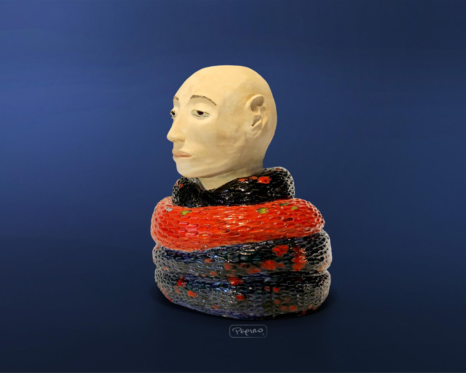 pepiro_van_roncha ceramic piece 'Nagarjuna'