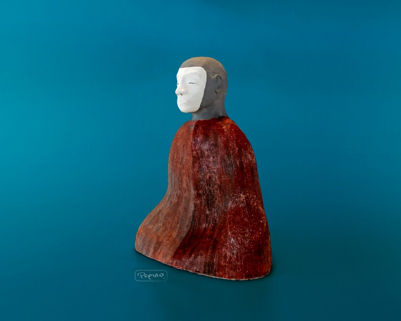 pepiro_van_roncha ceramic piece 'white face'