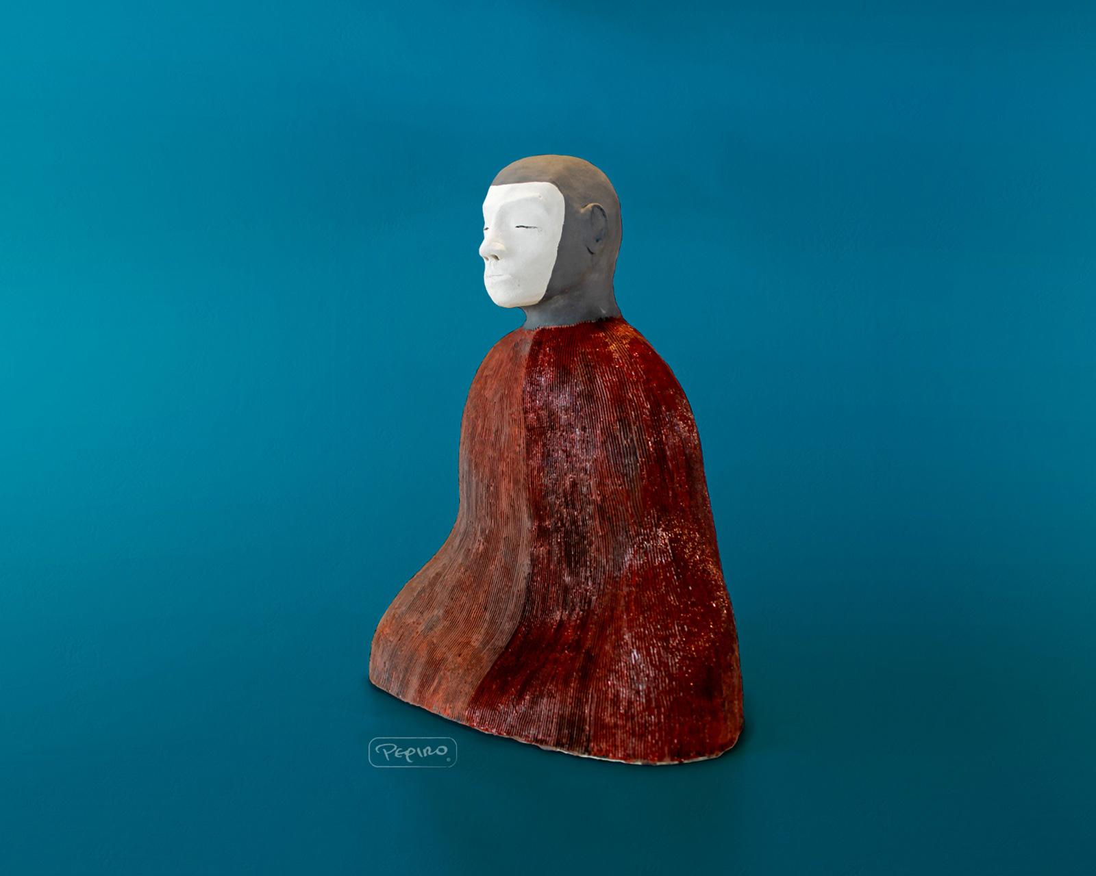 pepiro_van_roncha ceramic piece 'white face'